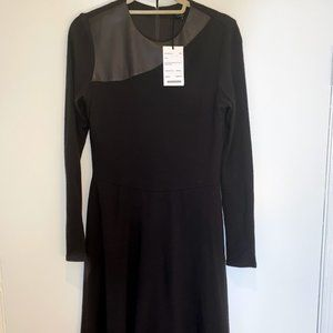 Worth Wool Fit and Flare Dress